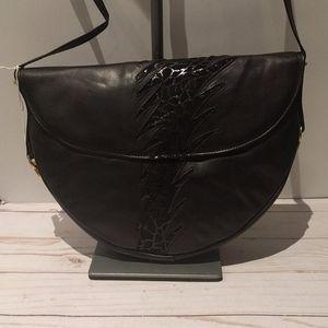 🌺🌸 Vintage genuine leather Crossbody 🌺🌺